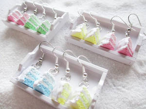 Pastel Ombre Cake Slices