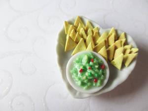 Miniature Nacho Plate