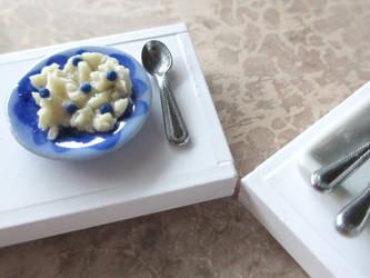 Blueberry Oatmeal - Polymer Clay by Shiritsu