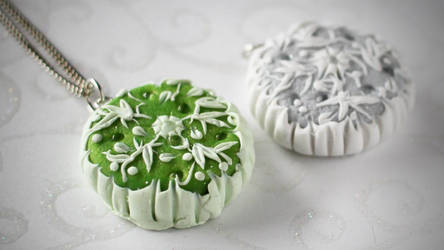 Polymer Clay Embroidery by Shiritsu