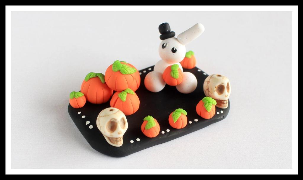 Bunny Pumpkin Patch by Shiritsu