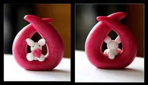 Bunny Sculpture by Shiritsu