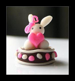 Bunnygirl Cake by Shiritsu