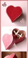 Heart Box Bunnies by Shiritsu