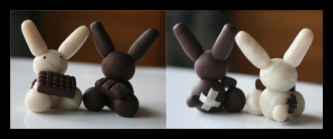 Choco Bunnies by Shiritsu