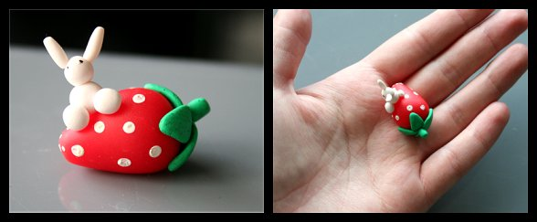 Strawberry Bunny by Shiritsu