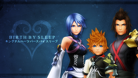KH: Birth by Sleep PSP by Meleiyu