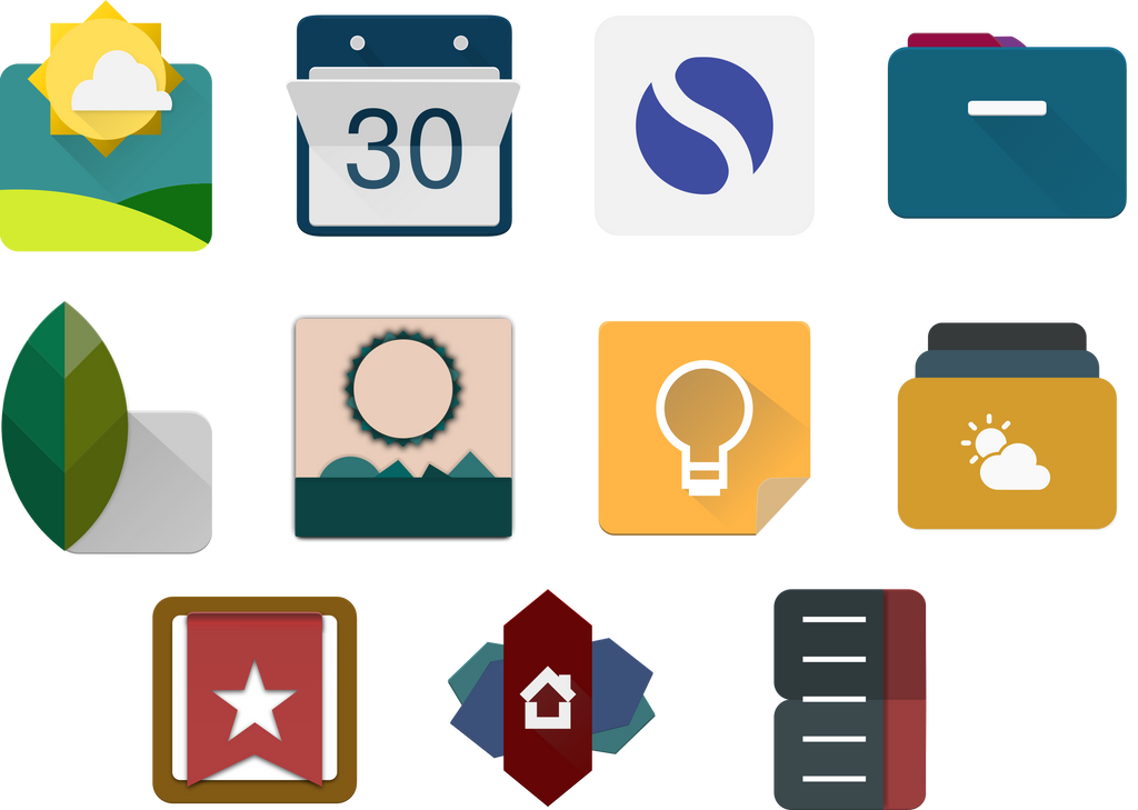 Inkscape Material App Icons 03