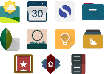 Inkscape Material App Icons 03 by ersinertan