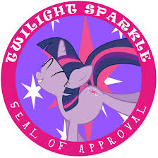 twilight sparkle badge of approval by chocolateman500