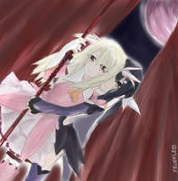 Fate/Kaleid: MIYU X ILLYA! by trufflemunchies13