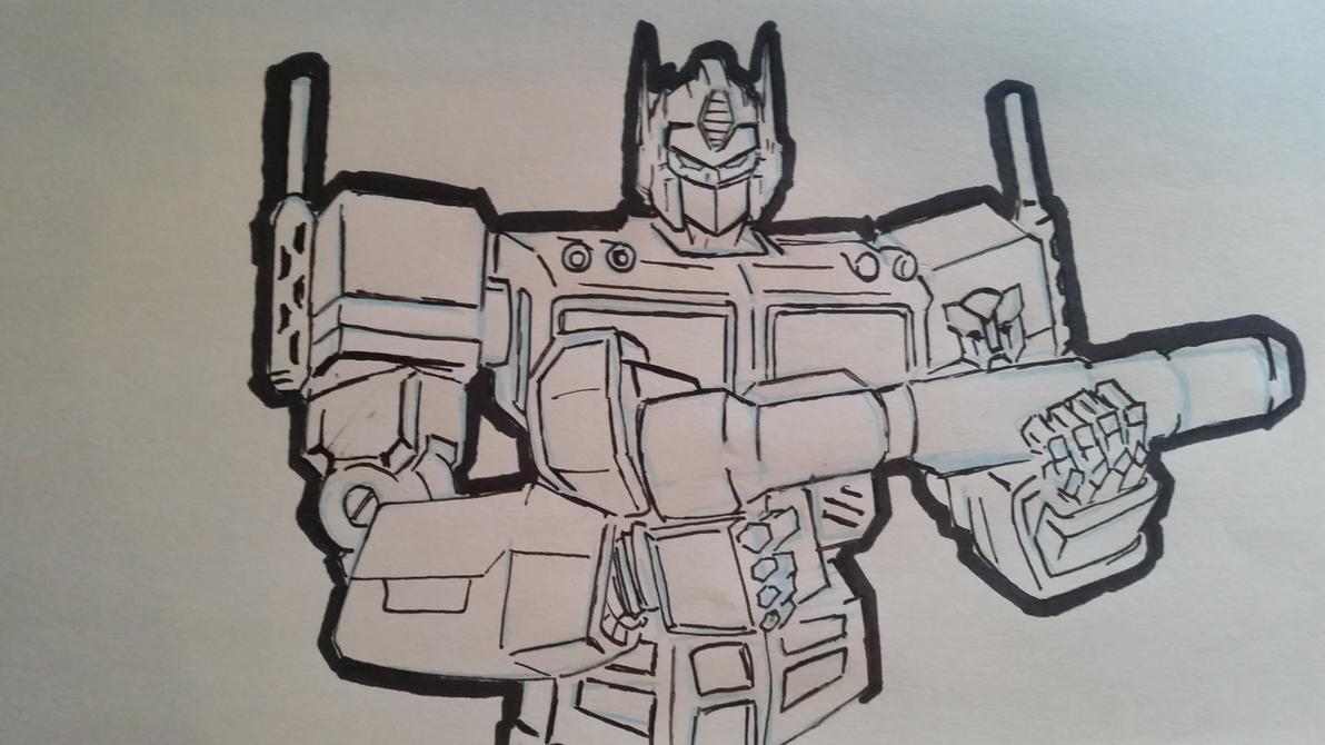 Optimus Prime by deviantscott73