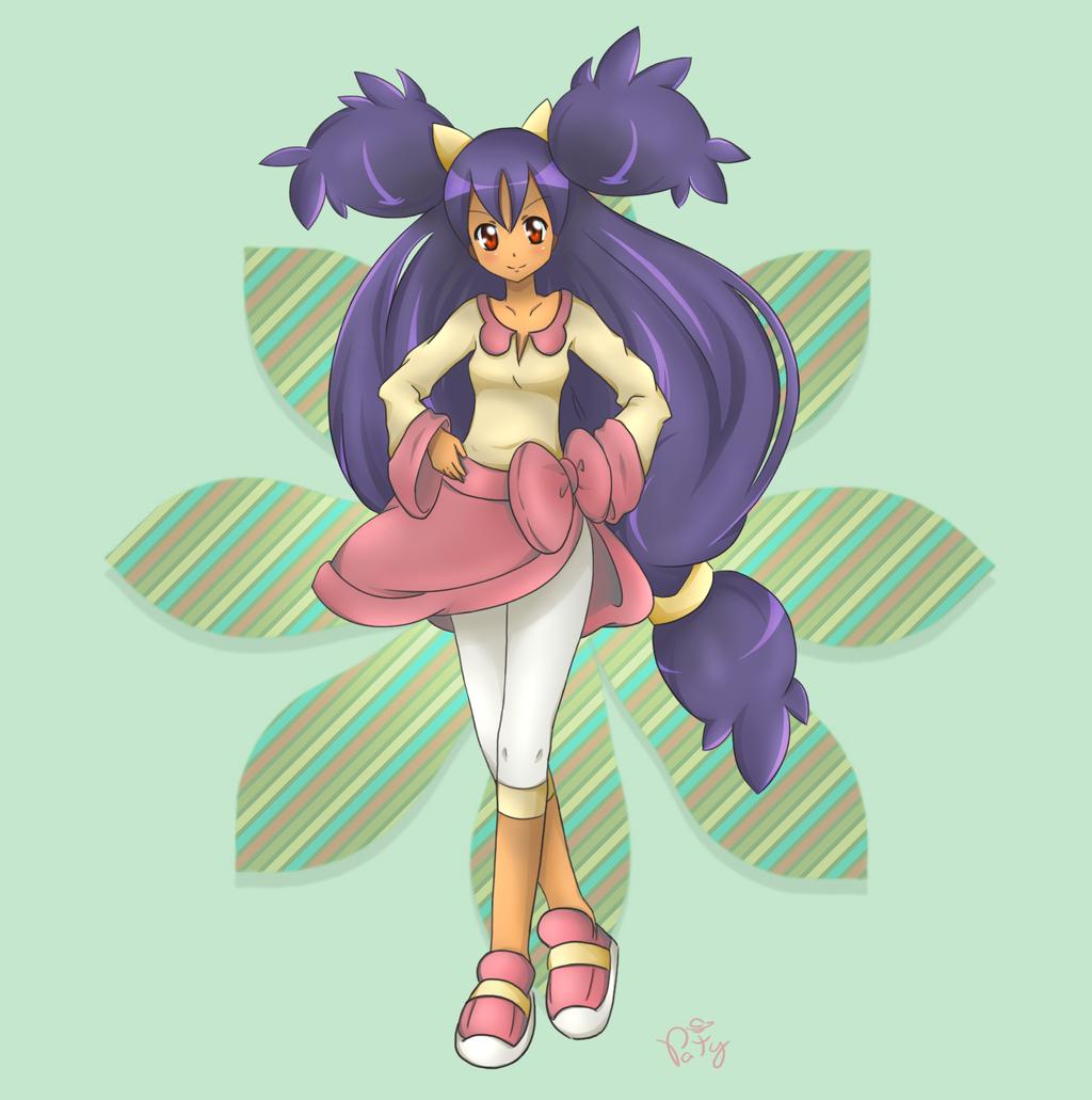 Iris by Patynotchan