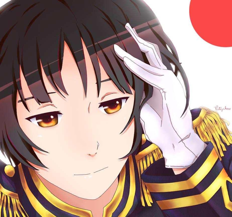 Im Your Samurai - Japan x Reader by ShadowCamille56 on