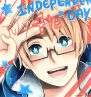 Hetalia Independence Day by Patynotchan