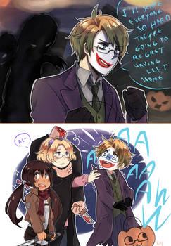 Hetalia halloween 2015