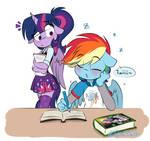 Rainbow's study session