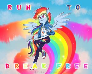 Run to break free
