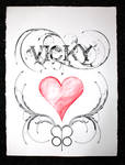 Drawing for Vicky