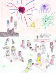 contest entry: hylian festival by ArtGirl810