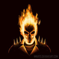 Ghost Rider by KMArts