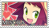 Misora stamp by Na-Nami