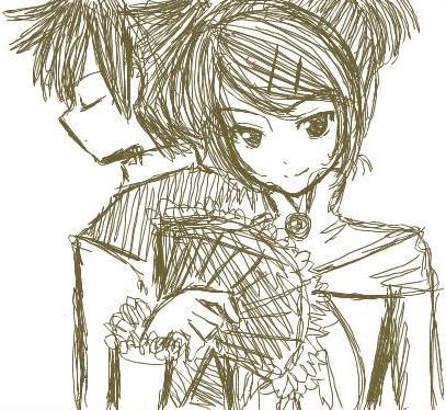 Doodle : Aku no Musume by Na-Nami