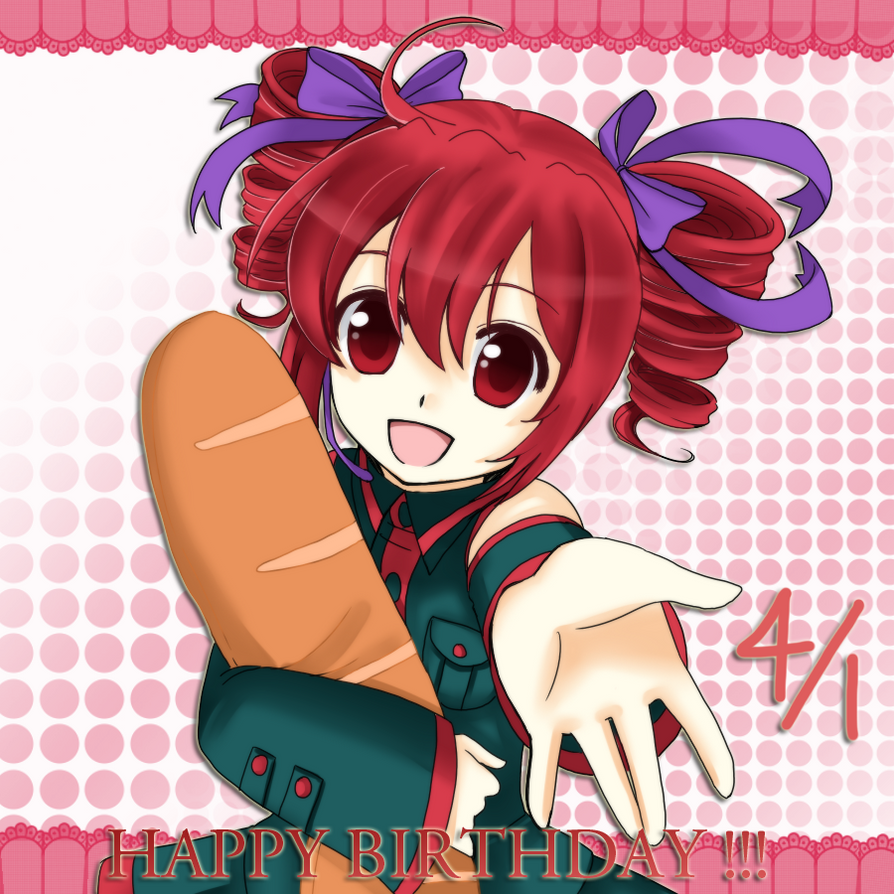 0104 Happy Birthday Teto by Na-Nami