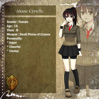 DoN : Akane Cyrielle -UPDATE- by Swanamii