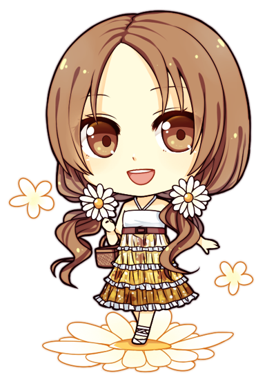 TwitterRequest: Chibi Vivianna by Na-Nami
