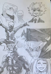 BNHA Sketches