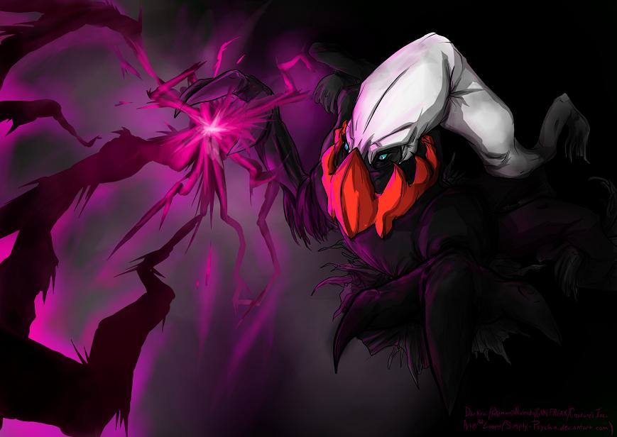 Darkrai by Simply-Psycho