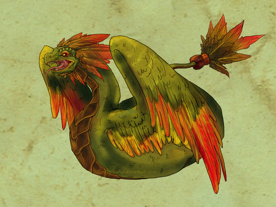 Quetzalcoatl by Simply-Psycho