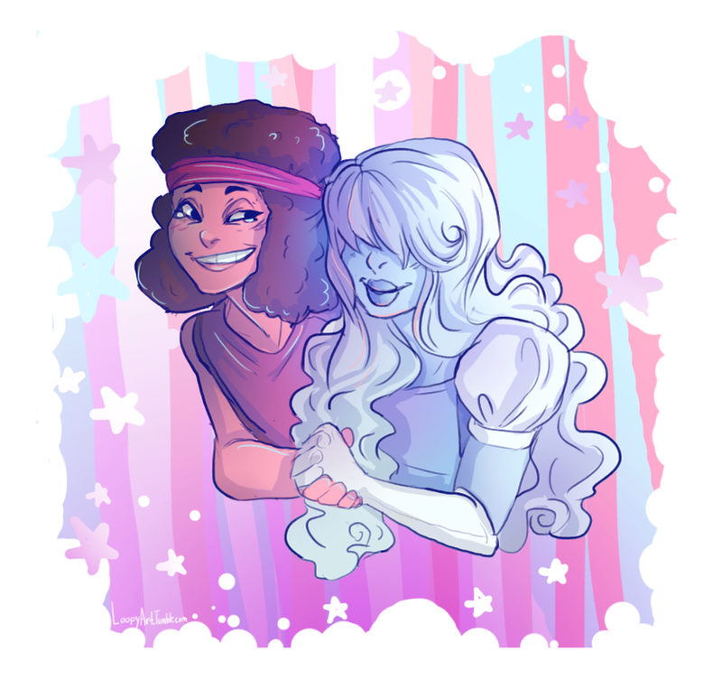 I drew these cuties~ My Tumblr Post: loopyart.tumblr.com/post/11349… Steven Universe © Rebecca Sugar Art ©