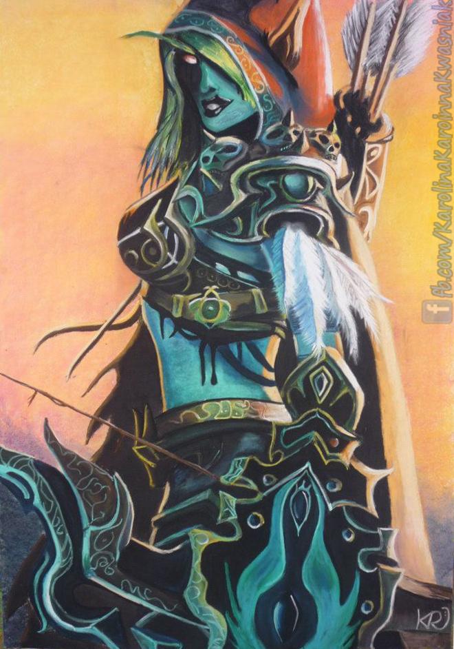 Lady Sylvanas by Karoinna