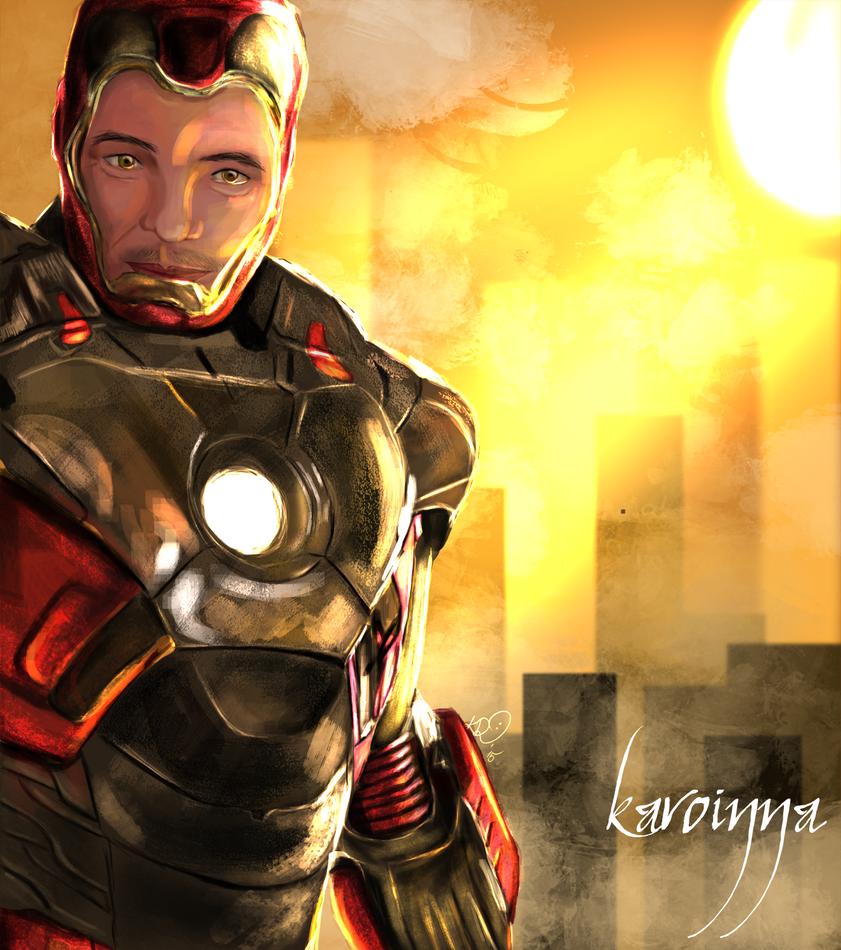 Iron Dad by Karoinna