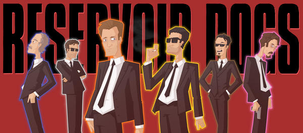 a focus on the character mr blonde in reservoir dogs Harvey keitel and michael madsen in reservoir dogs (1992) steve buscemi and  kirk  with the intention that they won't get too close and will concentrate on the  job instead  mr blonde: no, no  q: what are the characters' real names.