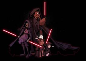 Star wars siths by yoanndurand