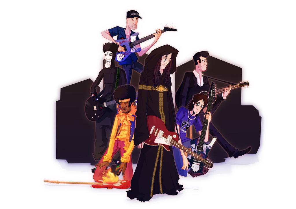 Guitarist hall of fame by yoanndurand