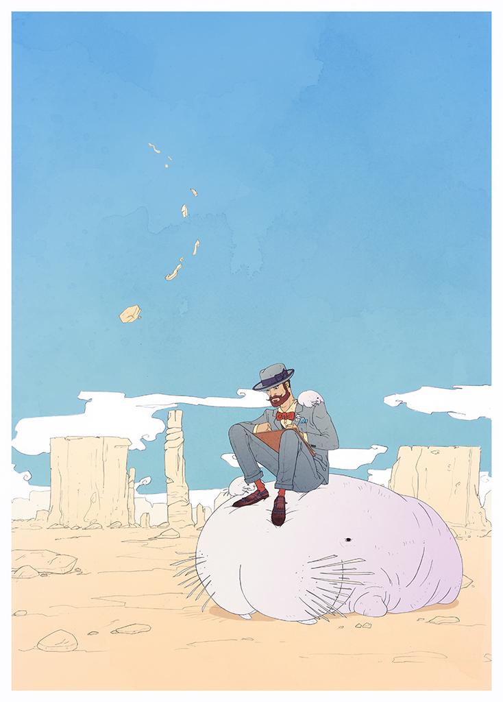 Moebius Boombros 5 by yoanndurand on