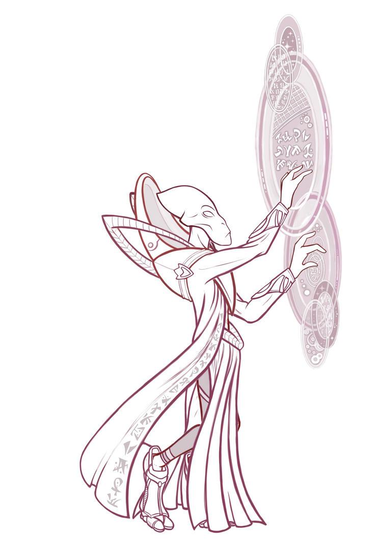 Alien Commandant by ucchan