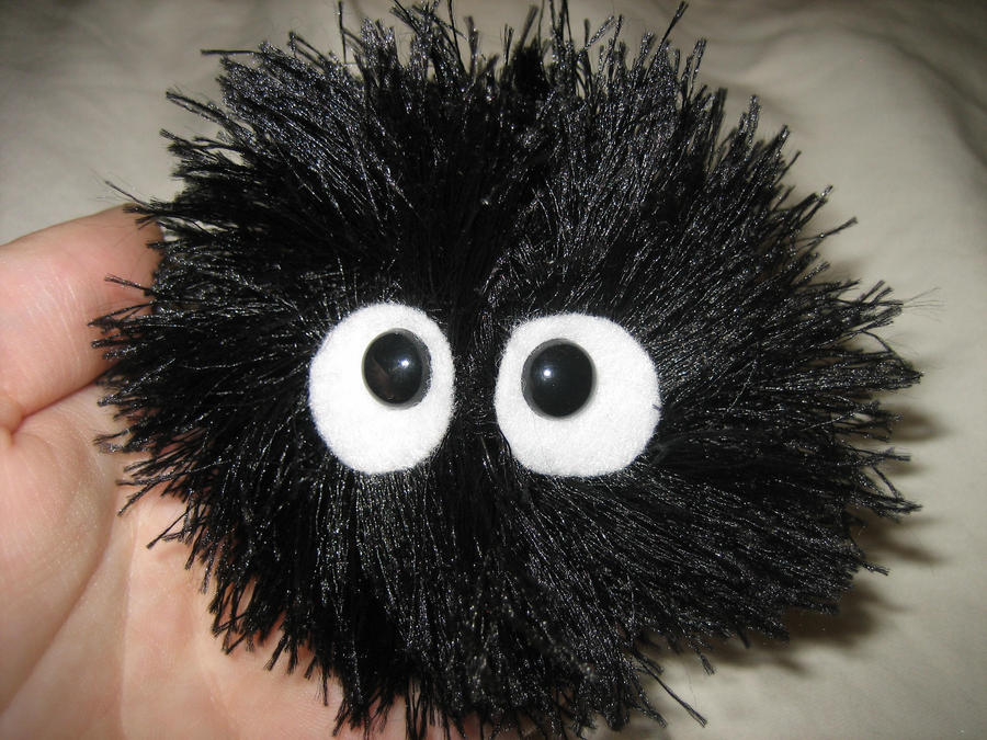 Soot Sprite from Totoro Family by deep-fried-banjo on DeviantArt