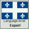Quebec Language Level: Expert by MagikBanana