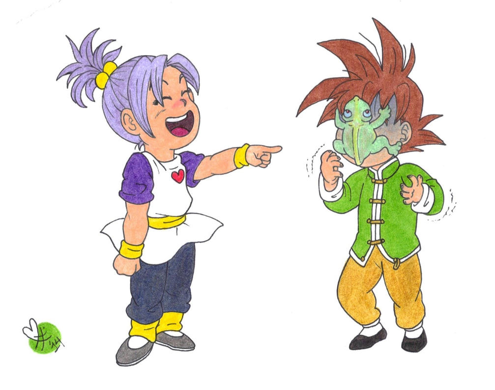 DB:ocs ''There's a frog on your face!!'' by BobsCookie