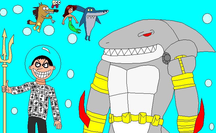 Cartoons & Comics: zig and sharko marina