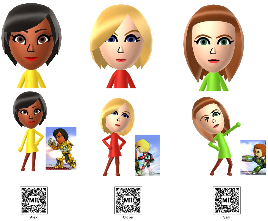 Totally Spies Miis and QR images by Badboylol on DeviantArt