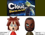Cloud confirmed for Smash Bros