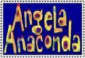 Angela Anaconda Stamp by Badboylol