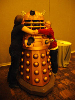 Daleks Just Want HUGZ