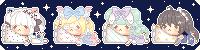 Pixel Pillow batch 1 by naomochi